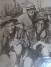 Vincent Martin, Herb Duguay, Kenneth Dow Boy Scouts Montreal 1930ish